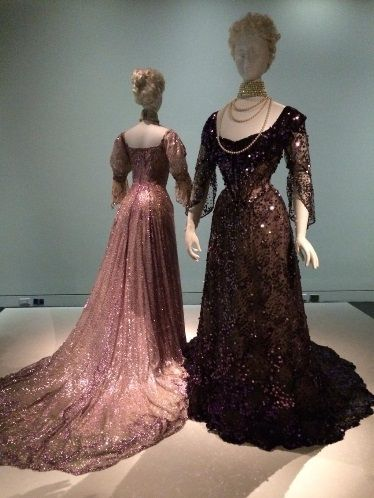 Half-mourning gowns from 1902