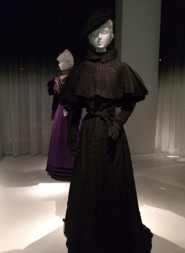 American mourning ensemble circa 1897