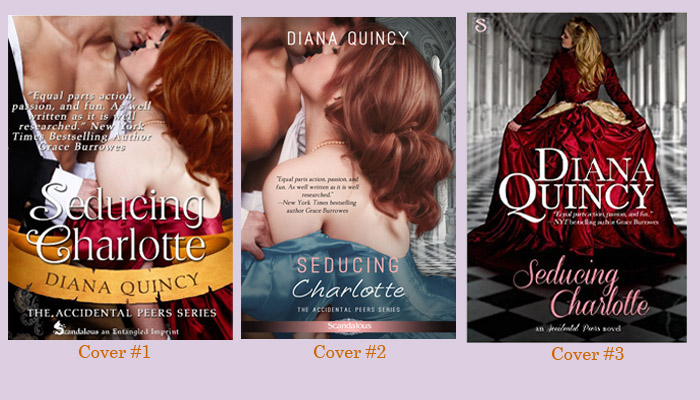 Seducing Charlotte Three Covers